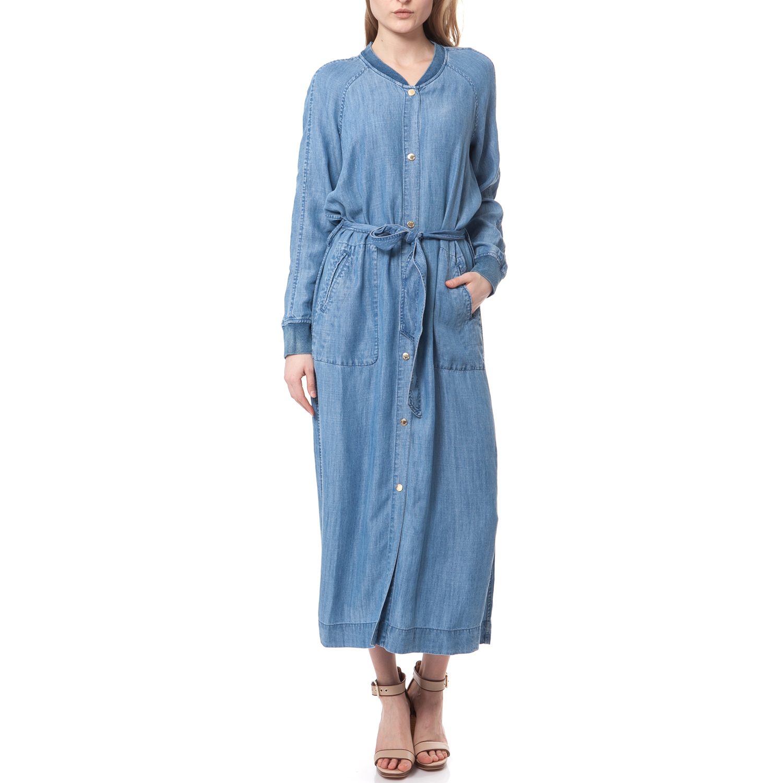 JUICY COUTURE - Φόρεμα JUICY COUTURE μπλε γυναικεία ρούχα φορέματα μάξι