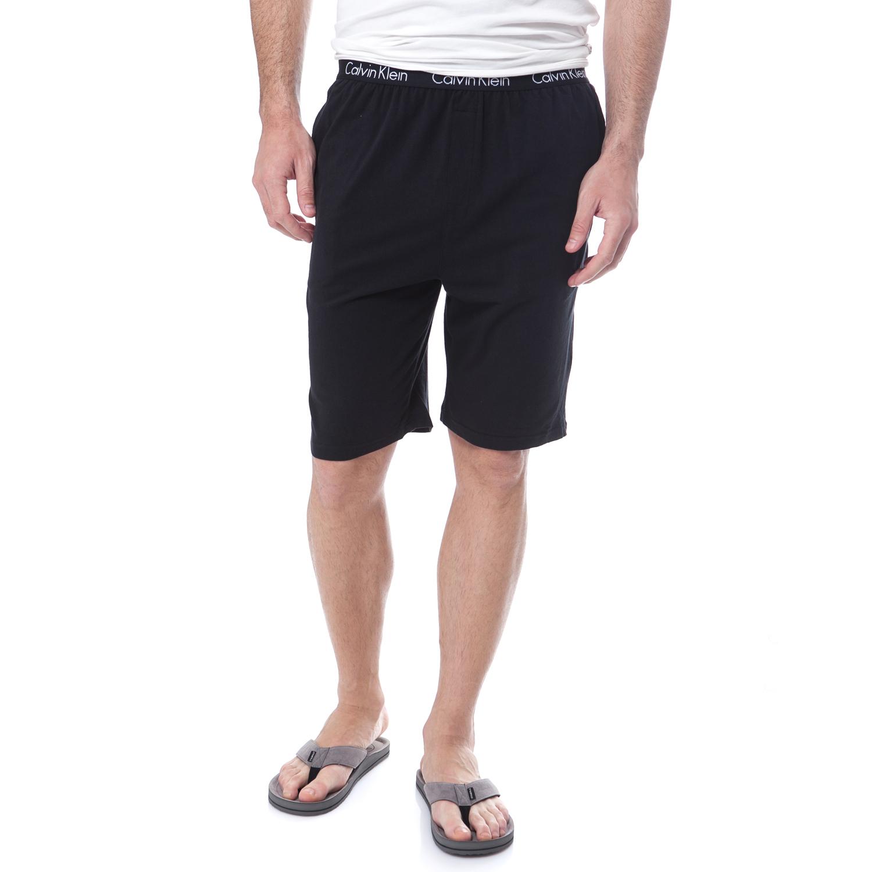 CK UNDERWEAR - Ανδρική πυτζάμα Calvin Klein μαύρη ανδρικά ρούχα εσώρουχα πυτζάμες ρόμπες
