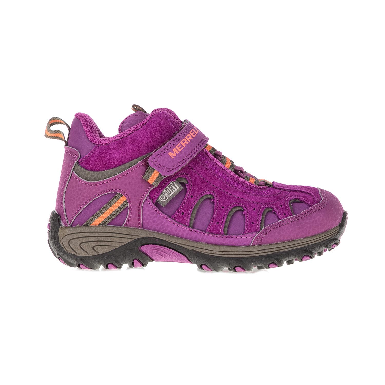MERRELL - Παιδικά παπούτσια Chameleon Mid Trek μοβ παιδικά baby παπούτσια μπότες μποτάκια