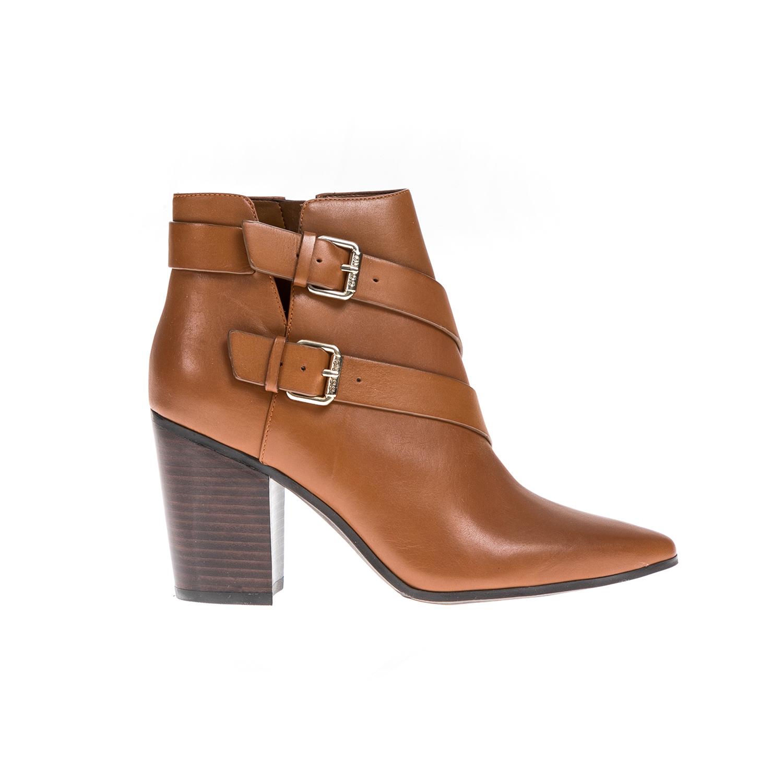 GUESS - Γυναικεία μποτάκια GUESS καφέ γυναικεία παπούτσια μπότες μποτάκια μποτάκια