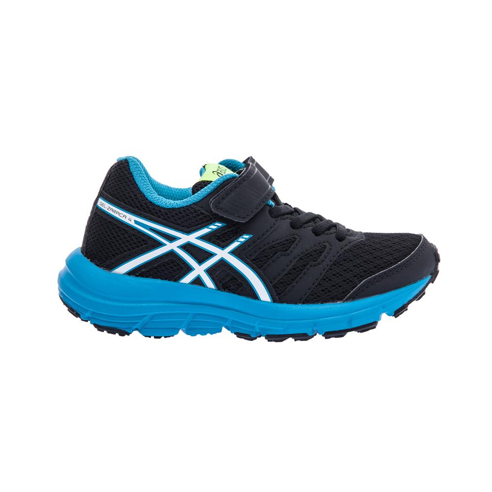 ASICS - Παιδικά παπούτσια Asics GEL-ZARACA 4 PS μαύρα παιδικά boys παπούτσια αθλητικά