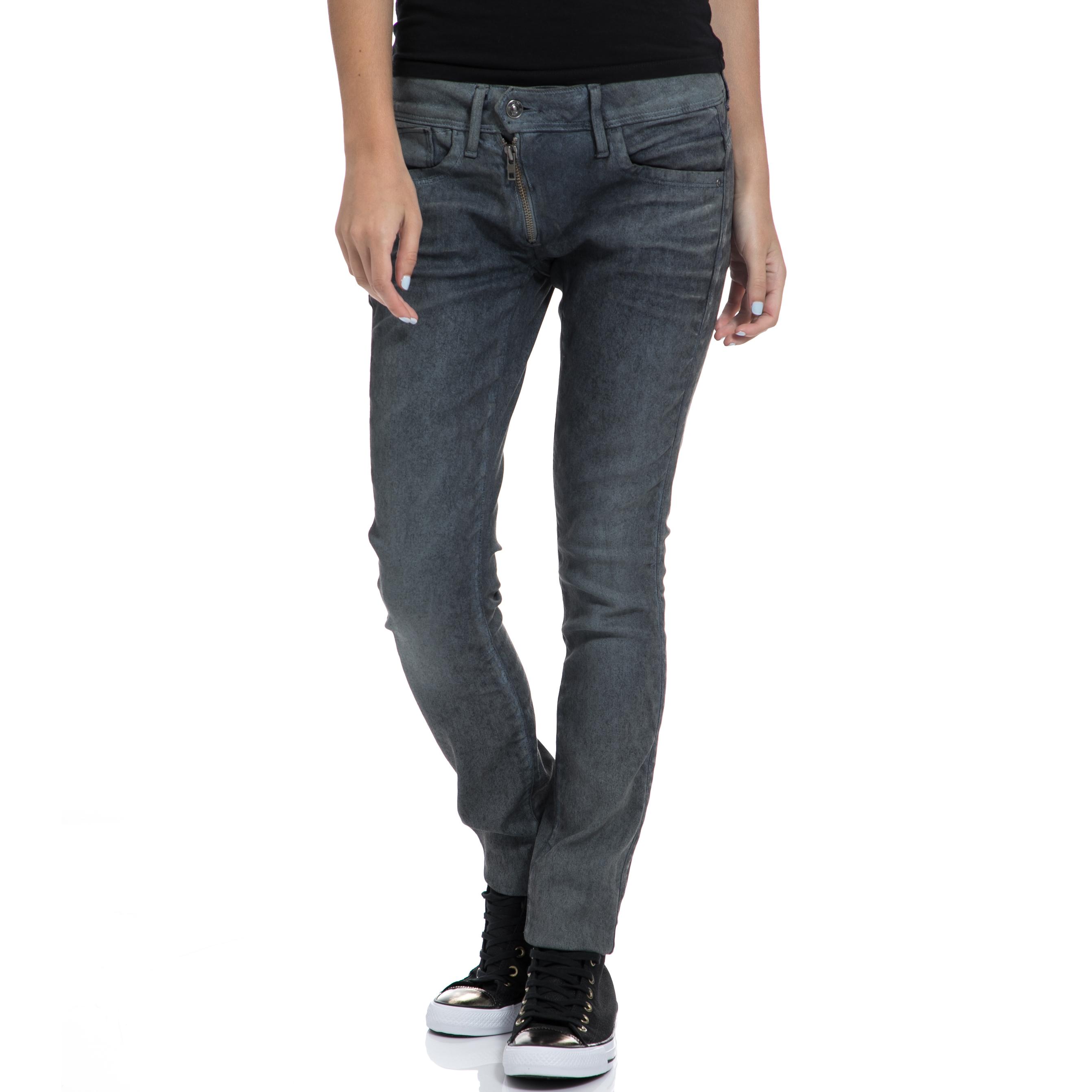 G-STAR RAW - Γυναικείο παντελόνι G-STAR RAW μπλε-γκρι γυναικεία ρούχα παντελόνια jean