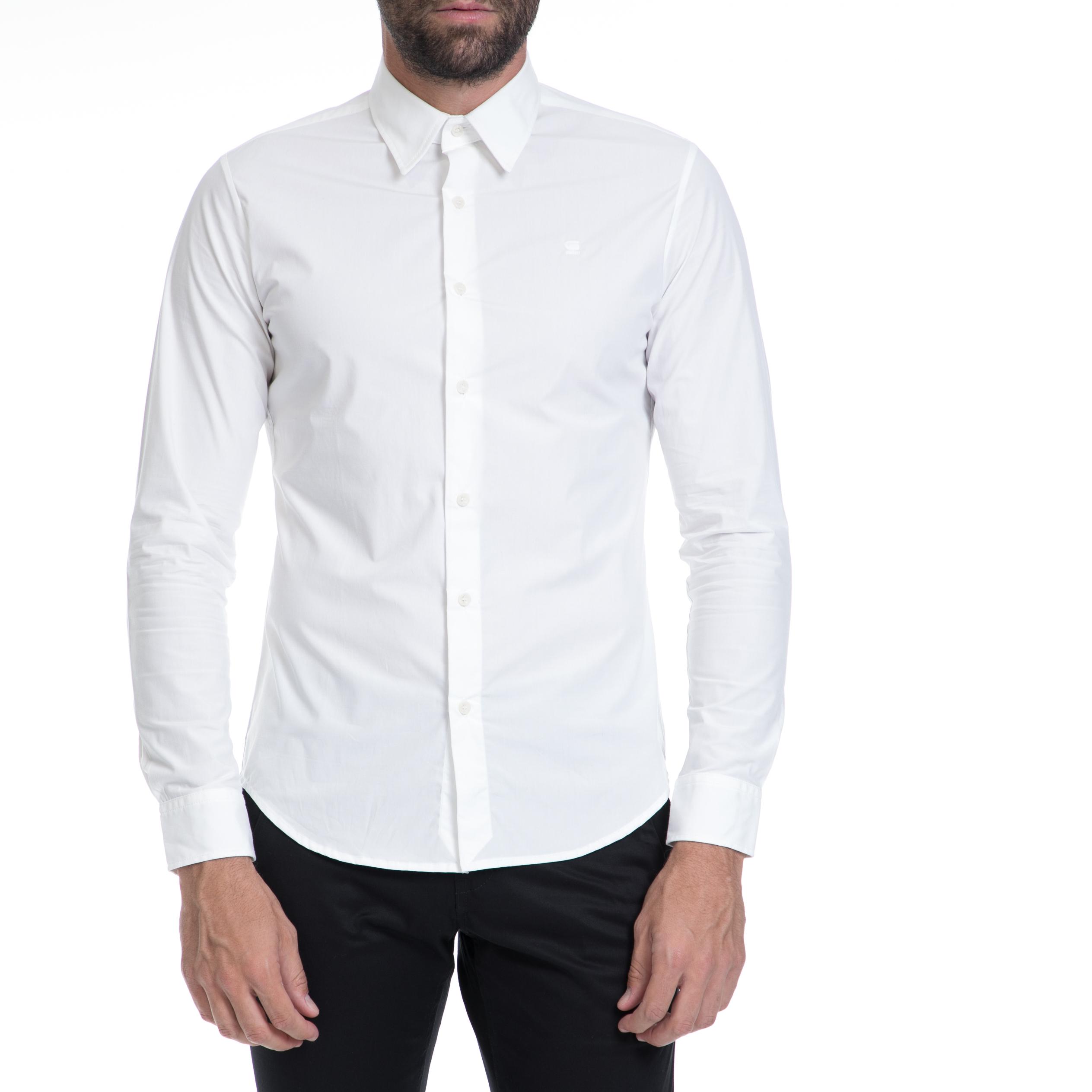 G-STAR RAW – Αντρικό πουκάμισο G-STAR RAW λευκό