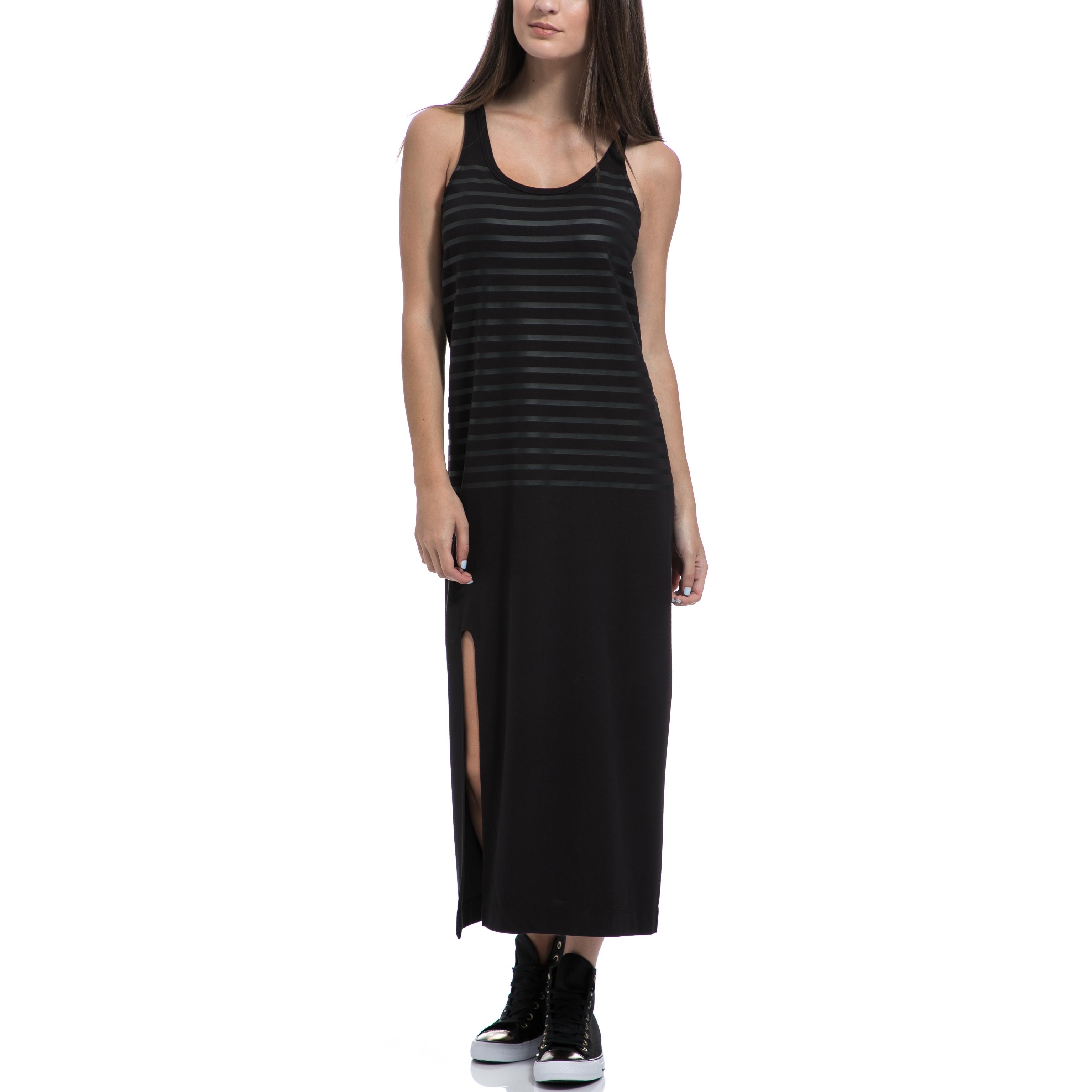 G-STAR RAW - Γυναικείο φόρεμα G-STAR RAW μαύρο γυναικεία ρούχα φορέματα μάξι
