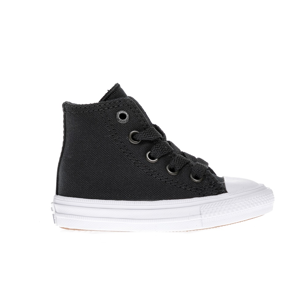 CONVERSE – Βρεφικά παπούτσια Chuck Taylor All Star II Hi μαύρα
