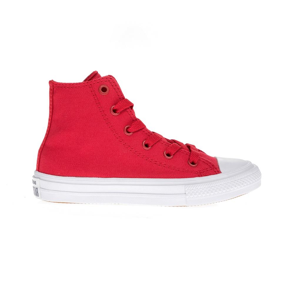 CONVERSE – Παιδικά παπούτσια Chuck Taylor All Star II Hi κόκκινα