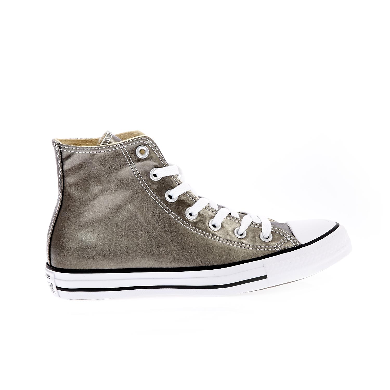 CONVERSE - Unisex παπούτσια Chuck Taylor All Star Hi γκρι ανδρικά παπούτσια sneakers