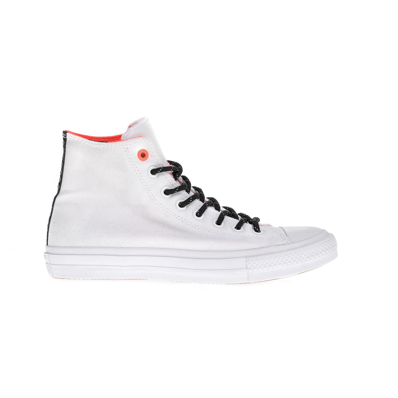 CONVERSE – Unisex μποτάκια Chuck Taylor All Star II Hi άσπρα