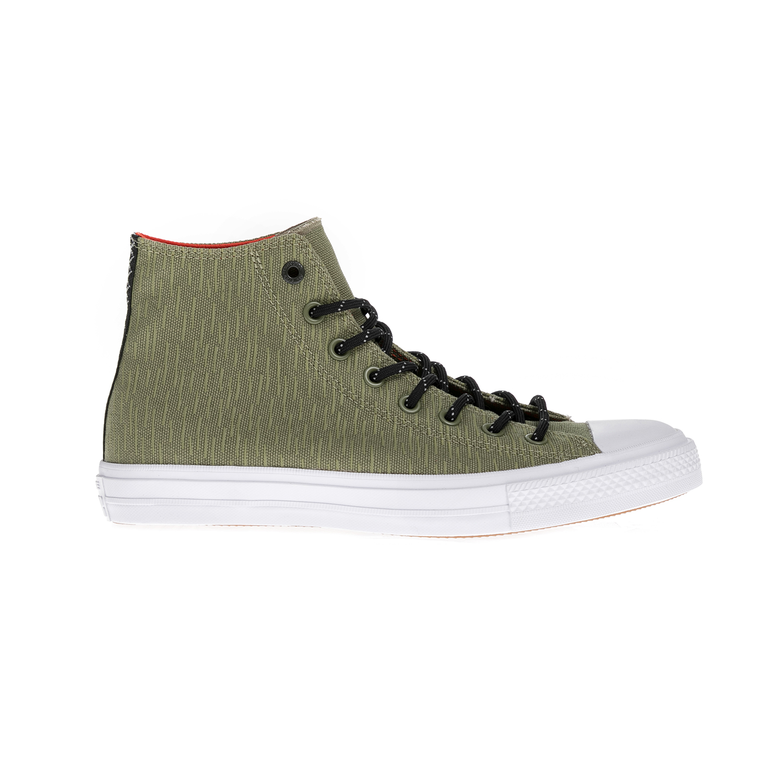 CONVERSE - Unisex παπούτσια Chuck Taylor All Star II Hi λαδί γυναικεία παπούτσια sneakers