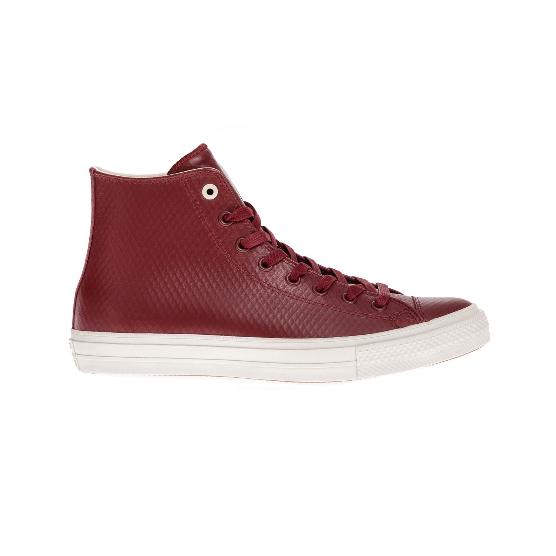 CONVERSE - Unisex παπούτσια Chuck Taylor All Star II Hi κόκκινα γυναικεία παπούτσια sneakers