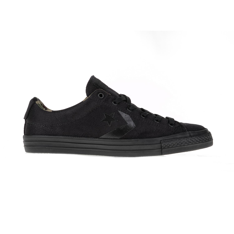 CONVERSE – Υφασμάτινα αθλητικά παπούτσια Star Player Ox μαύρα