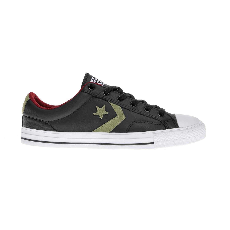 CONVERSE - Unisex παπούτσια Star Player Ox μαύρα