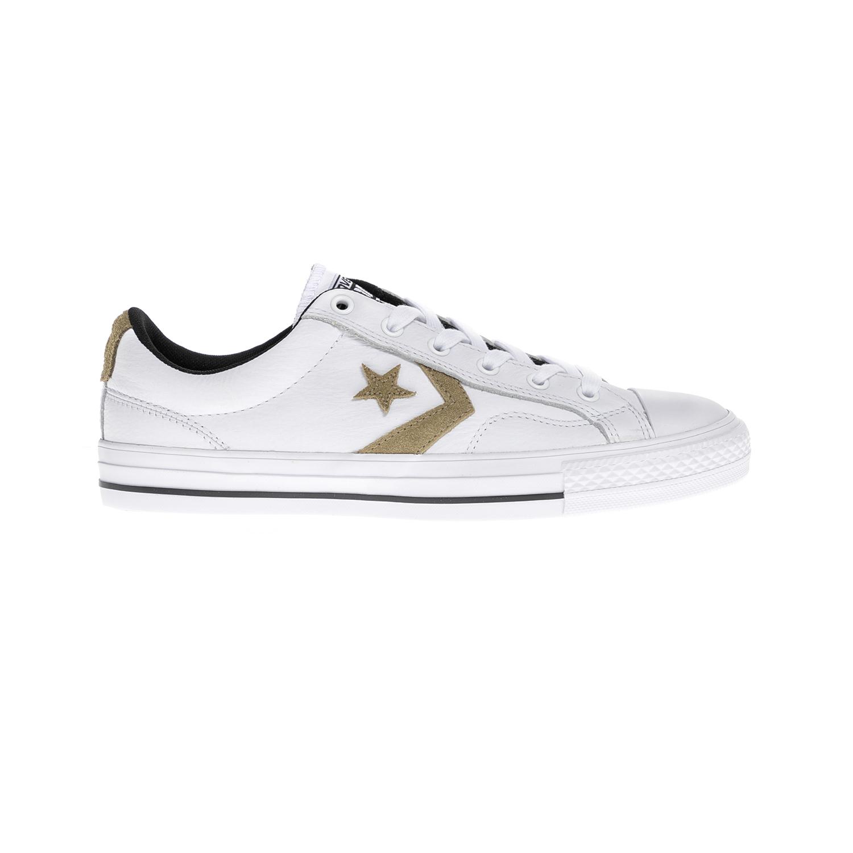 CONVERSE – Unisex παπούτσια Star Player Ox άσπρα
