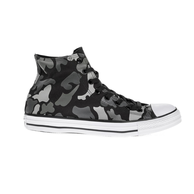 d7a79a39e36 CONVERSE - Unisex παπούτσια Chuck Taylor All Star Hi μαύρα-γκρι