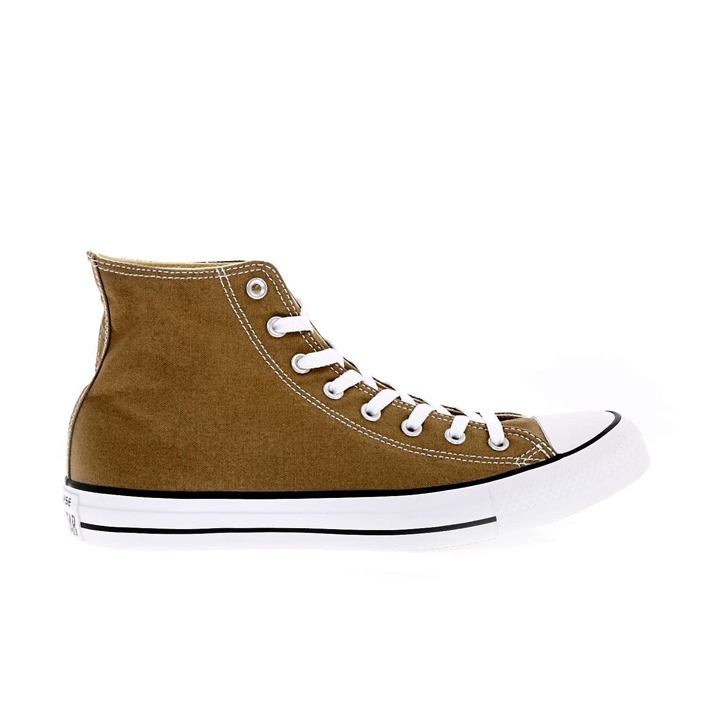 CONVERSE - Unisex παπούτσια Chuck Taylor All Star Hi καφέ ανδρικά παπούτσια sneakers