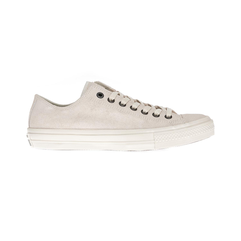 CONVERSE – Unisex παπούτσια Chuck Taylor All Star II Ox εκρού 3d488109a30