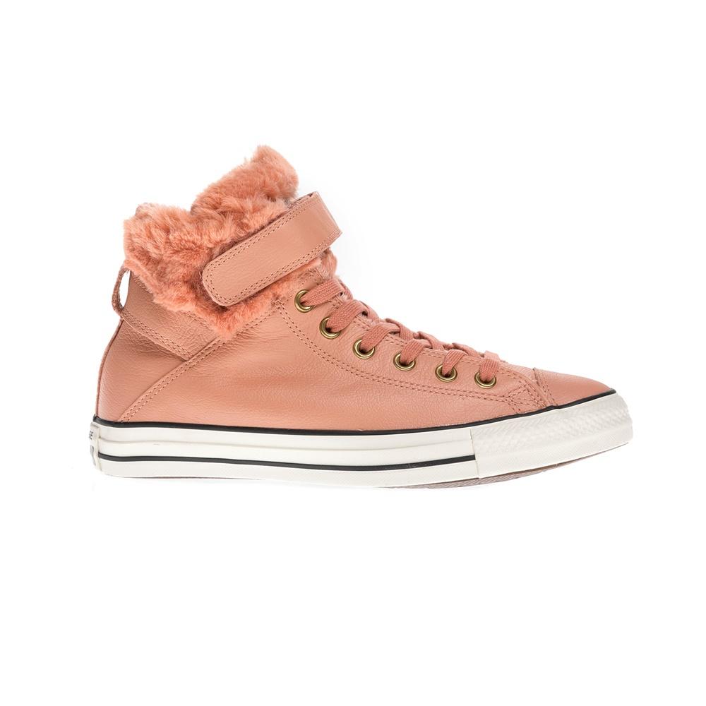 CONVERSE – Γυναικεία μποτάκια Chuck Taylor All Star Brea Lea ροζ