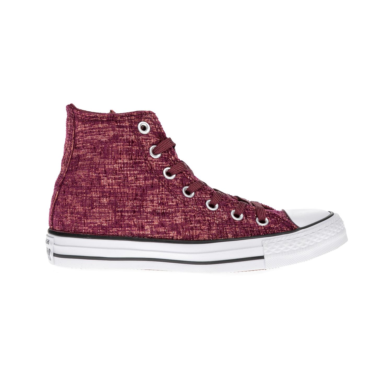 CONVERSE – Γυναικεία μποτάκια Chuck Taylor All Star Hi ροζ-μοβ