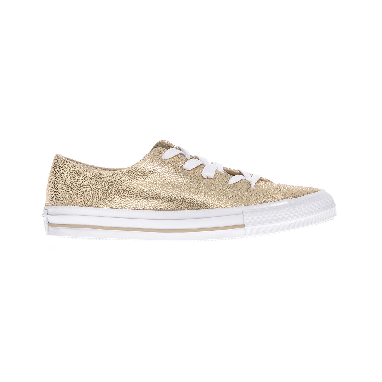 CONVERSE – Γυναικεία παπούτσια Chuck Taylor All Star Gemma Ox χρυσά
