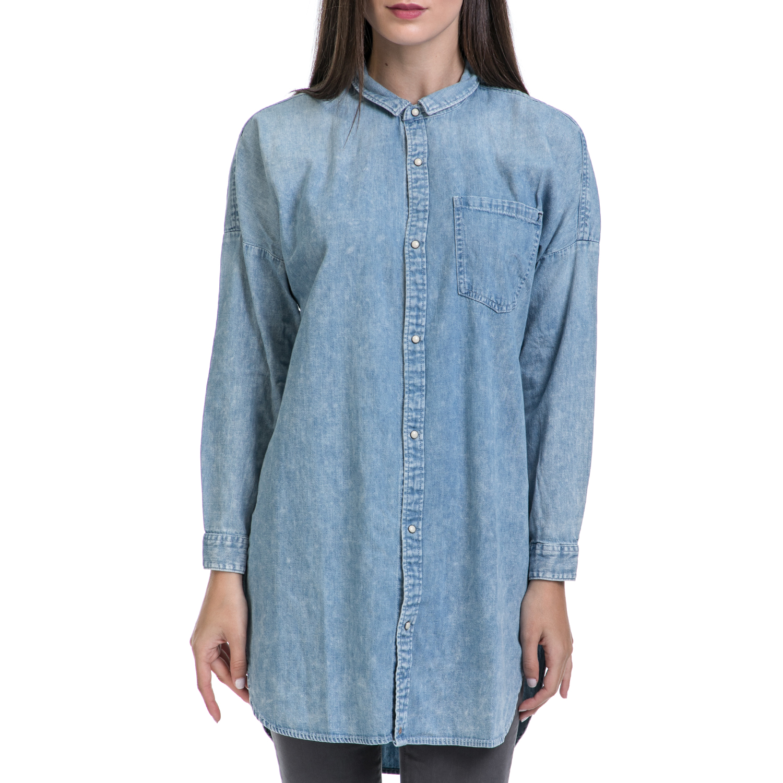 MAISON SCOTCH – Γυναικείο πουκάμισο MAISON SCOTCH μπλε