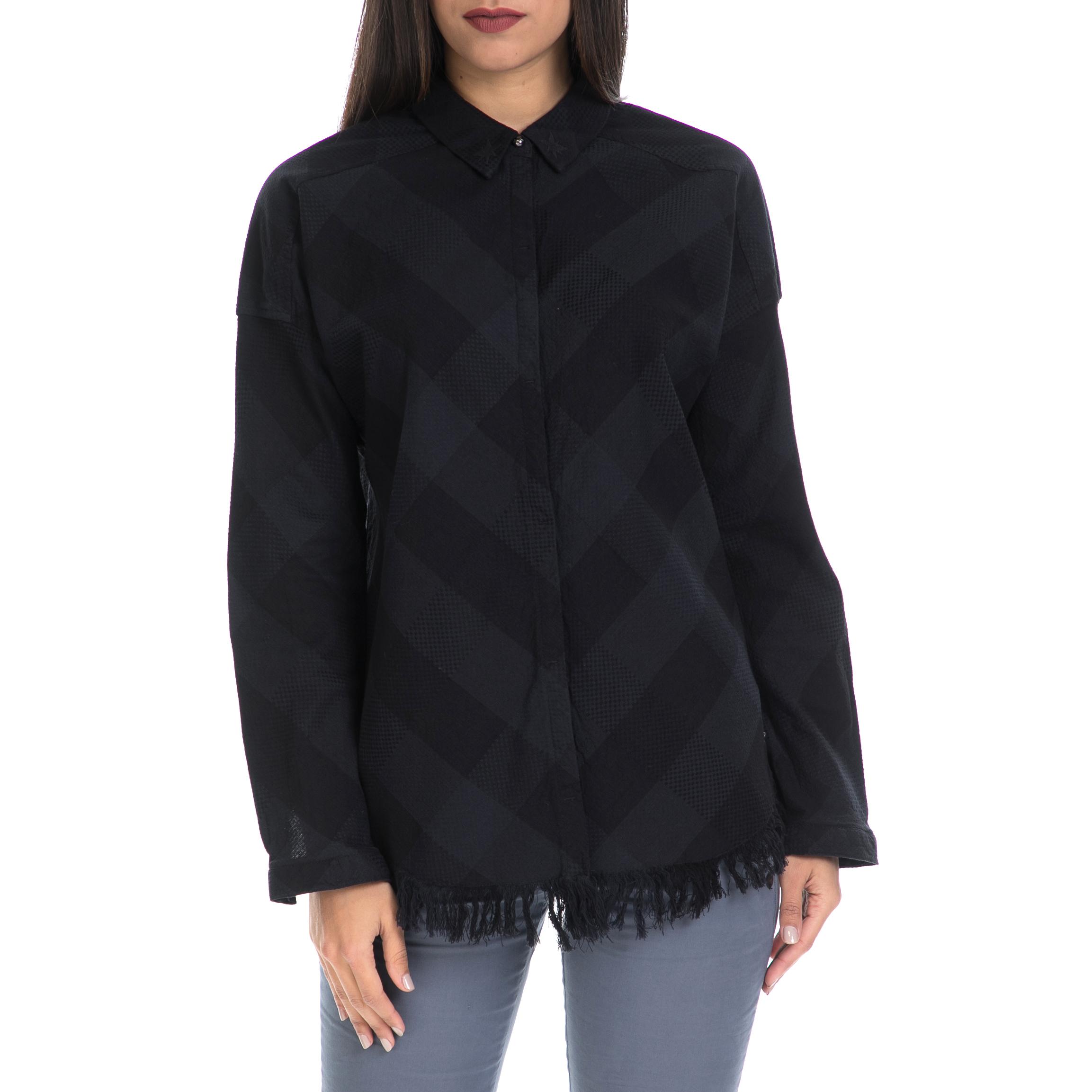 MAISON SCOTCH – Γυναικείο πουκάμισο MAISON SCOTCH μαύρο