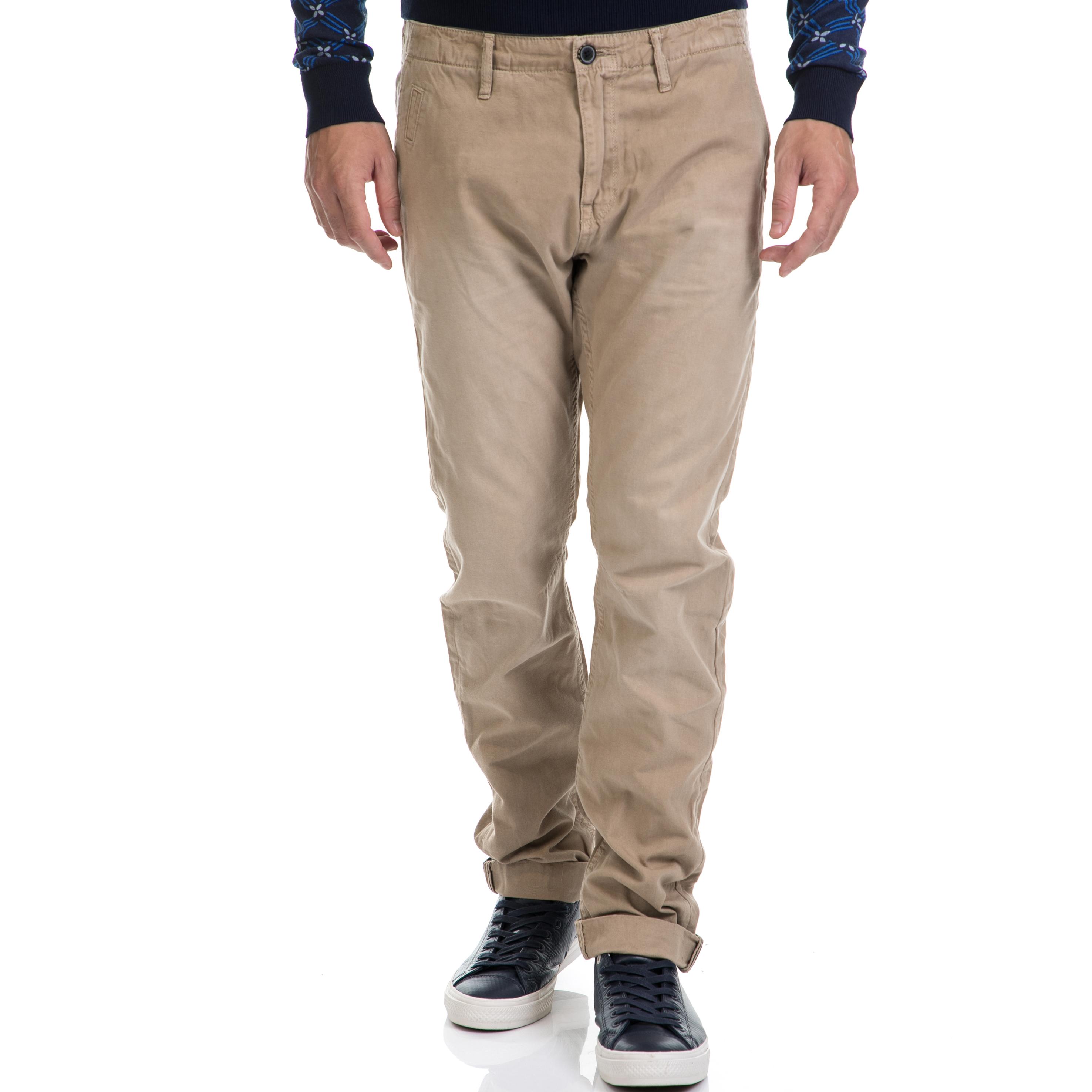 SCOTCH & SODA – Ανδρικό παντελόνι SCOTCH & SODA μπεζ