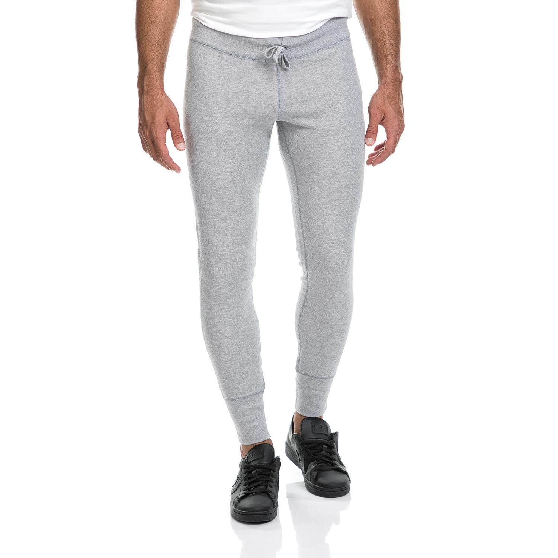 CONVERSE - Ανδρικό παντελόνι/φόρμα Essentials Pant CONVERSE γκρι ανδρικά ρούχα αθλητικά φόρμες