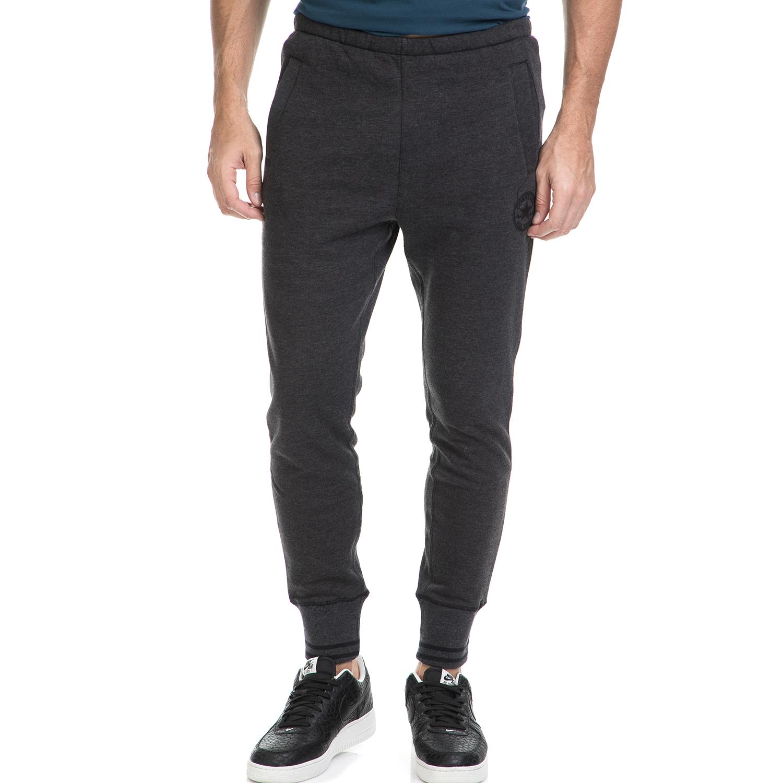 CONVERSE - Ανδρικό παντελόνι φόρμας Converse Core γκρι ανδρικά ρούχα αθλητικά φόρμες
