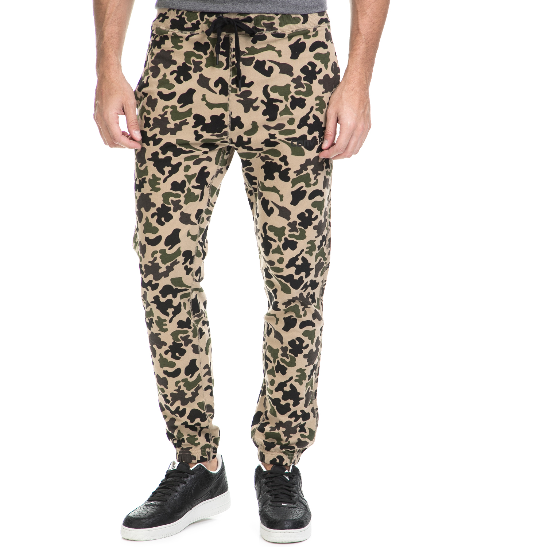 CONVERSE - Aνδρικό παντελόνι φόρμας Converse Camo Pant παραλλαγή ανδρικά ρούχα αθλητικά φόρμες