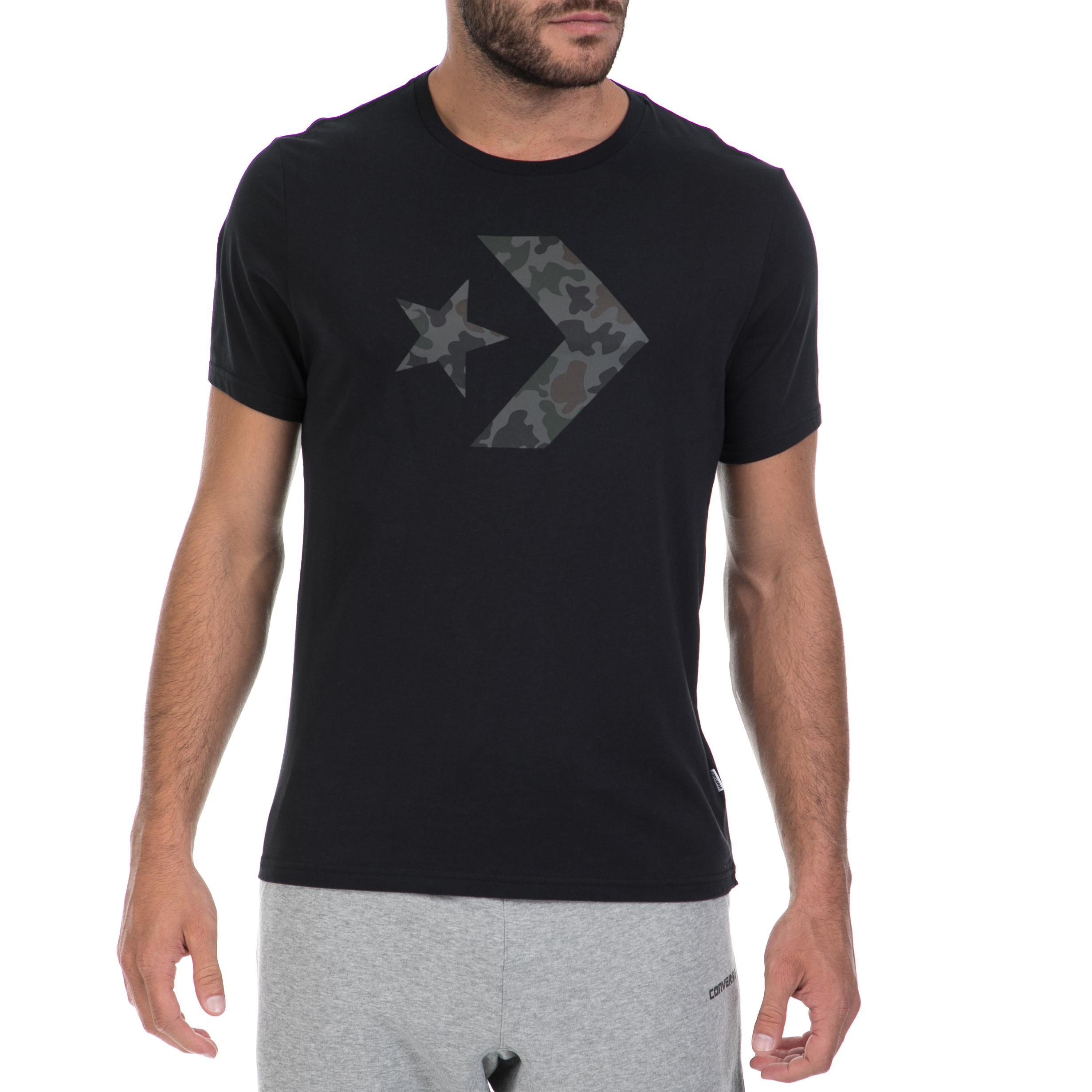 CONVERSE – Αντρική μπλούζα CONVERSE μαύρη