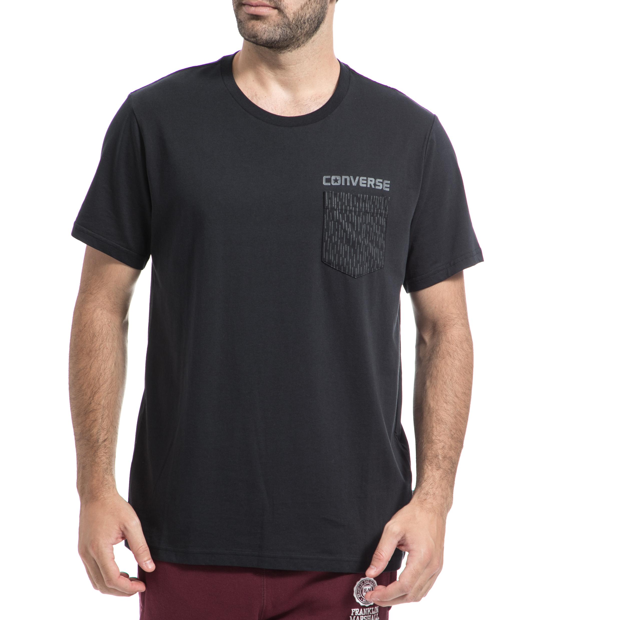 CONVERSE – Ανρική μπλούζα CONVERSE μαύρη