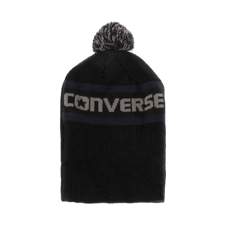 CONVERSE – Unisex σκούφος CONVERSE μαύρος