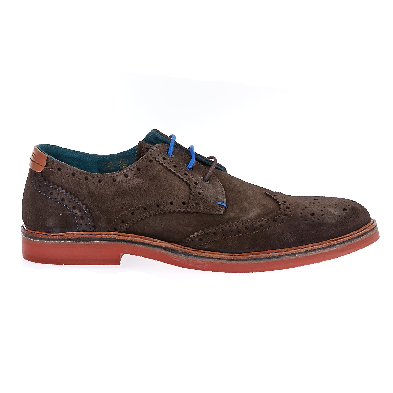 TED BAKER - Ανδρικά παπούτσια Ted Baker καφέ ανδρικά παπούτσια μοκασίνια loafers