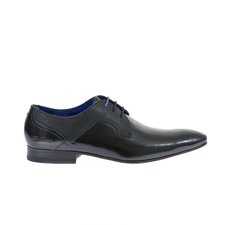 TED BAKER - Ανδρικά παπούτσια Ted Baker μαύρα ανδρικά παπούτσια μοκασίνια loafers