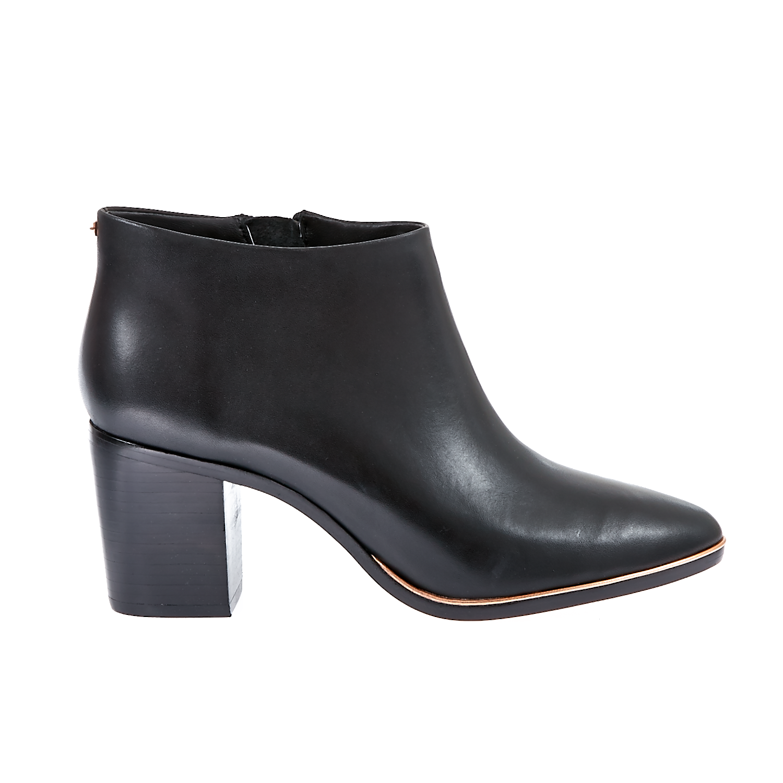 TED BAKER - Γυναικεία μποτάκια Ted Baker μαύρα γυναικεία παπούτσια μπότες μποτάκια μποτάκια