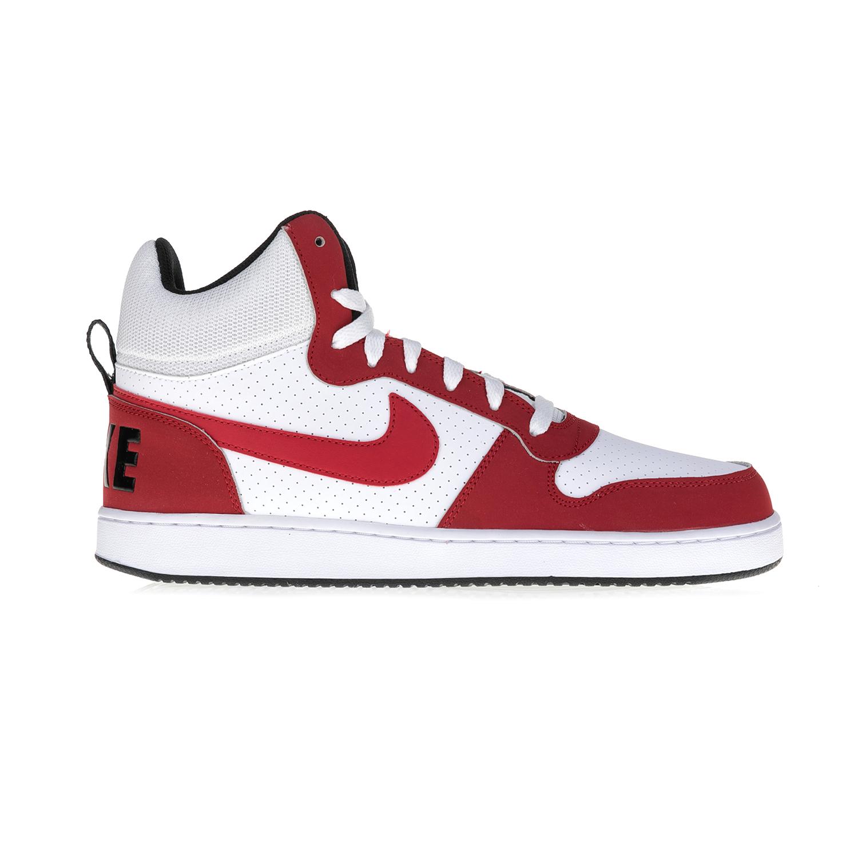 NIKE – Αντρικά αθλητικά μποτάκια NIKE COURT BOROUGH λευκό-κόκκινο