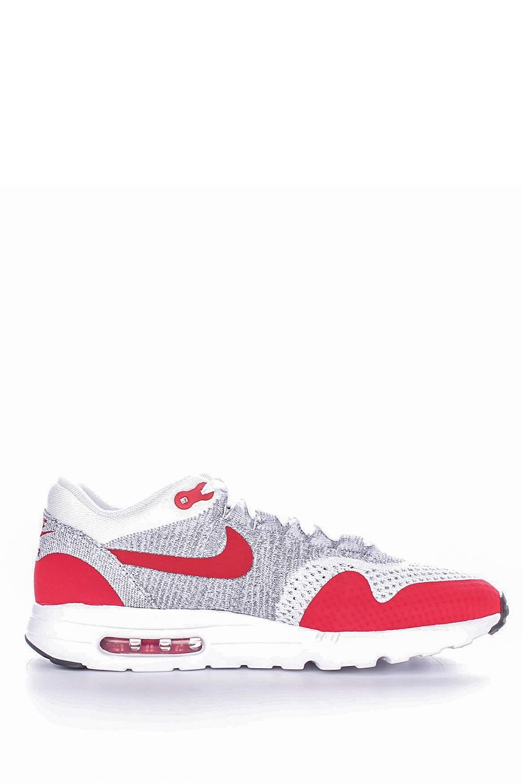 NIKE – Ανδρικά αθλητικά παπούτσια Nike AIR MAX 1 ULTRA FLYKNIT κόκκινα – γκρι