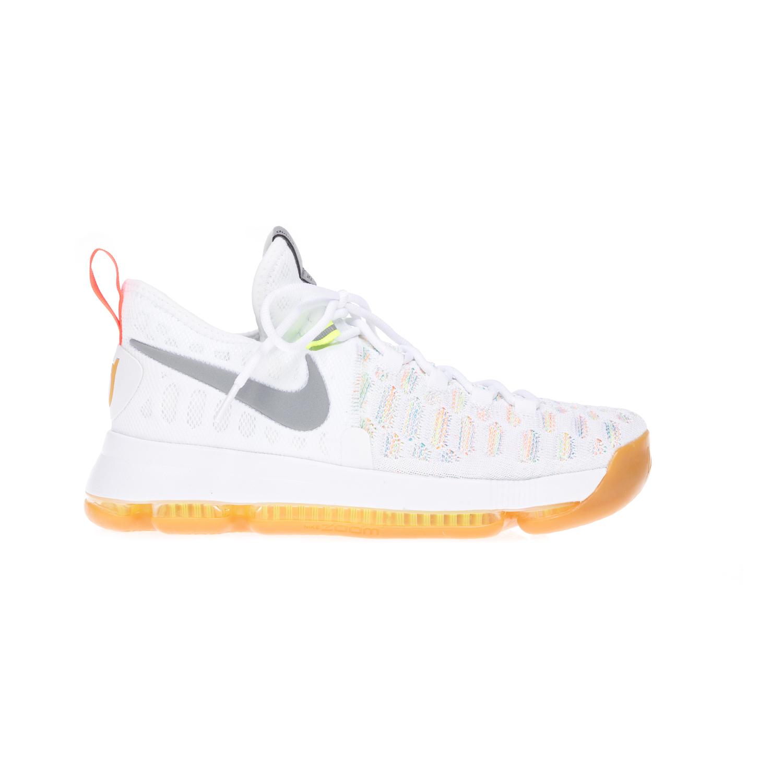NIKE - Αντρικά παπούτσια NIKE ZOOM KD 9 άσπρα ανδρικά παπούτσια αθλητικά basketball