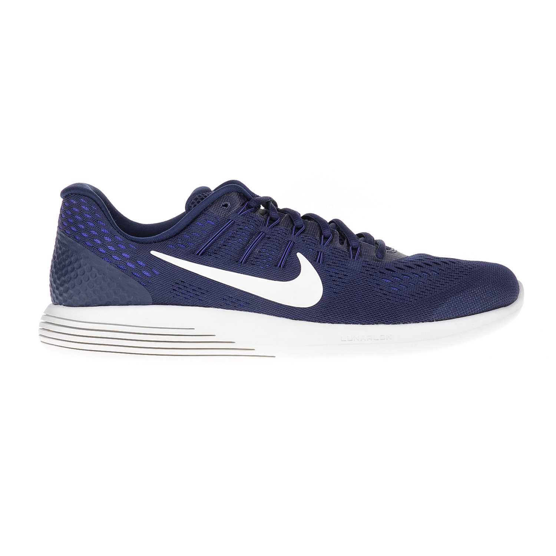 NIKE - Ανδρικά αθλητικά παπούυτσια NIKE LUNARGLIDE 8 μπλε-λευκά ανδρικά παπούτσια αθλητικά running