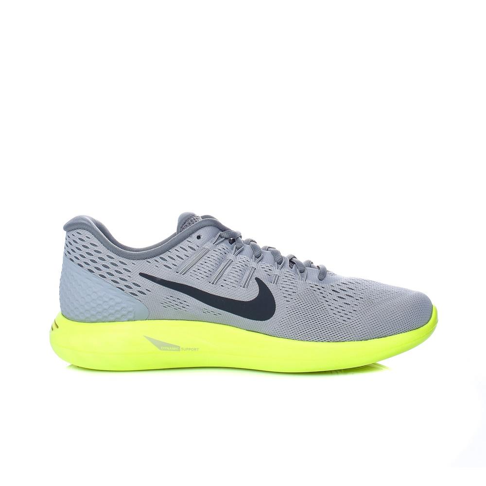 NIKE – Ανδρικά αθληιτκά παπούτσια Nike LUNARGLIDE 8 γκρι – κίτρινα