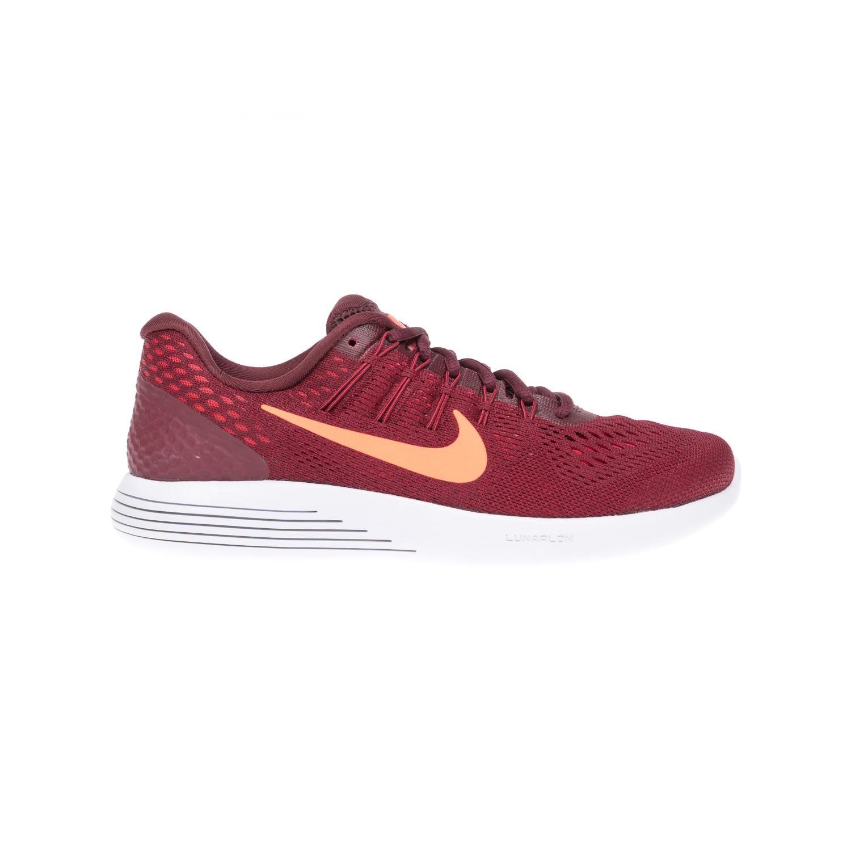 NIKE - Αντρικά αθλητικά παπούτσια NIKE LUNARGLIDE 8 κόκκινα ανδρικά παπούτσια αθλητικά running