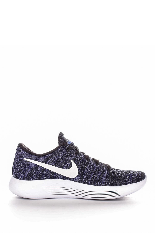 NIKE – Γυναικεία παπούτσια για τρέξιμο Nike LUNAREPIC LOW FLYKNIT μαύρα – μοβ