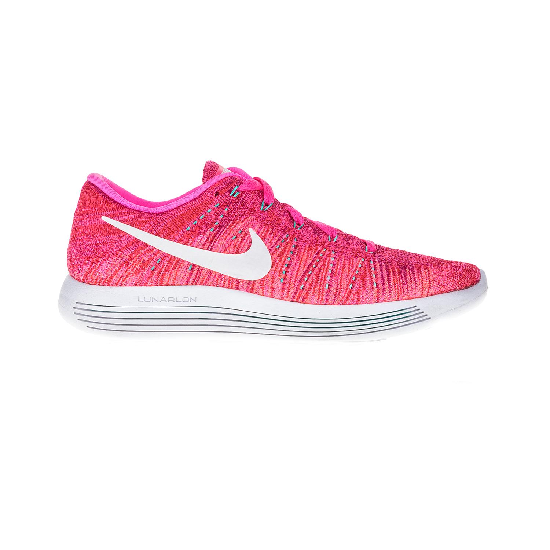 NIKE - Γυναικεία αθλητικά παπούτσια NIKE LUNAREPIC LOW FLYKNIT ροζ-λευκό