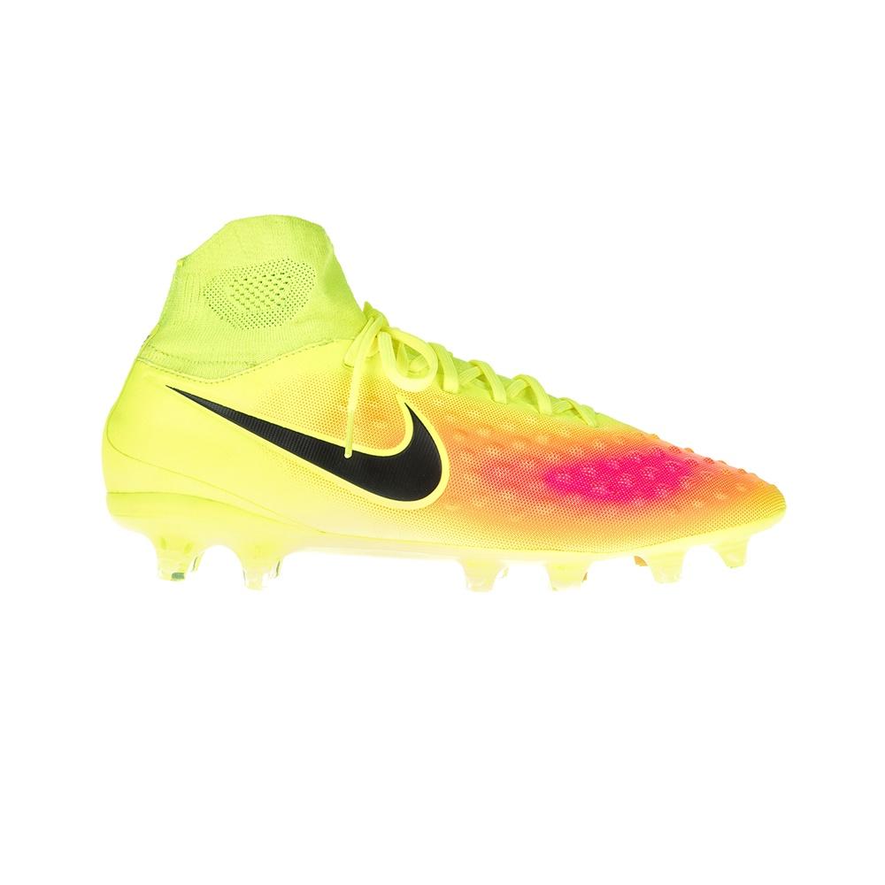 NIKE – Ανδρικά ποδοσφαιρικά παπούτσια ΝΙΚΕ MAGISTA ORDEN II FG κίτρινα-ροζ