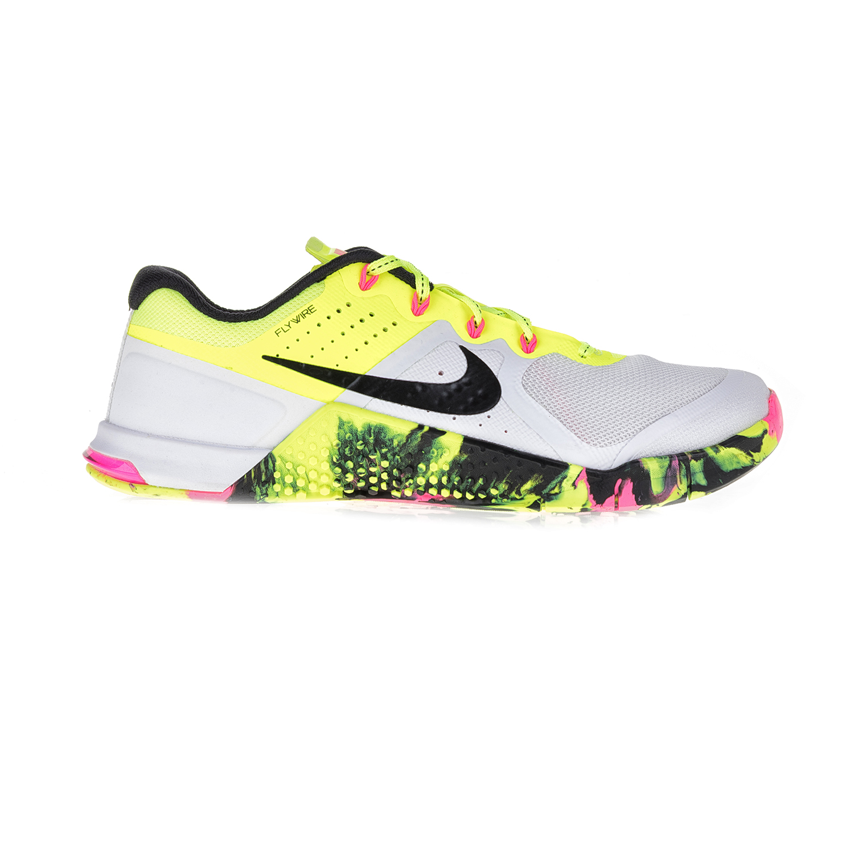 NIKE - Γυναικεία αθλητικά παπούτσια NIKE METCON 2 OC λευκά-κίτρινα