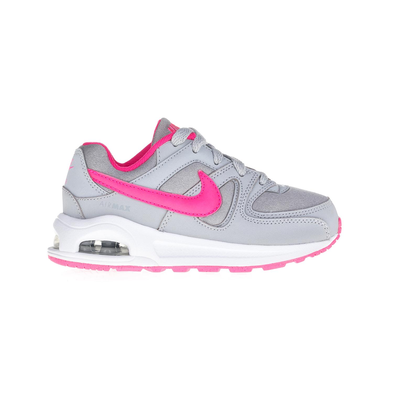 NIKE – Παιδικά παπούτσια NIKE AIR MAX COMMAND FLEX (PS) γκρι-ροζ