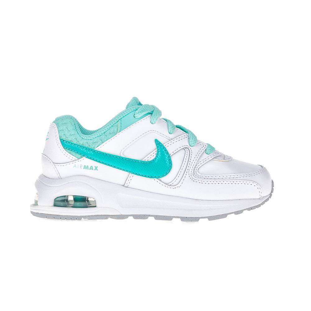 NIKE – Αθλητικά παιδικά παπούτσια ΝΙΚΕ AIR MAX COMMAND FLEX LTR PS λευκά-μπλε