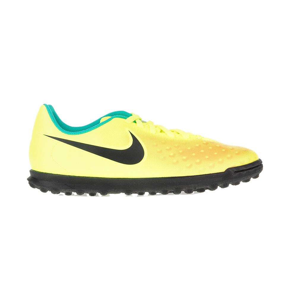 NIKE - Παιδικά παπούτσια ποδοσφαίρου JR MAGISTAX OLA II TF κίτρινα