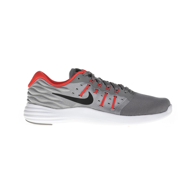 NIKE – Ανδρικά αθλητικά παπούτσια NIKE LUNARSTELOS γκρι-κόκκινα