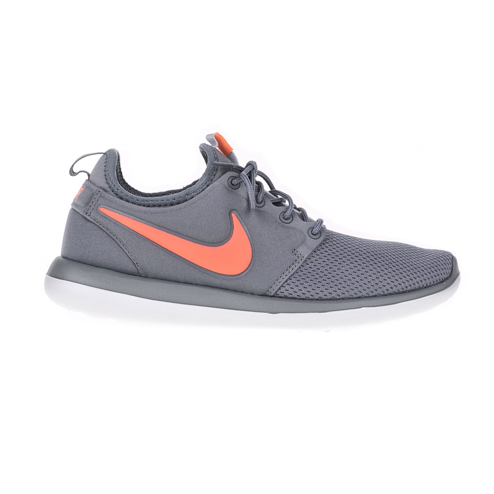 NIKE - Παιδικά παπούτσια NIKE ROSHE TWO (GS) γκρι - πορτοκαλί